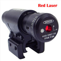 Rifle tático Red Laser Sight Dot Scope com montagem de escopo de 11mm / 20mm