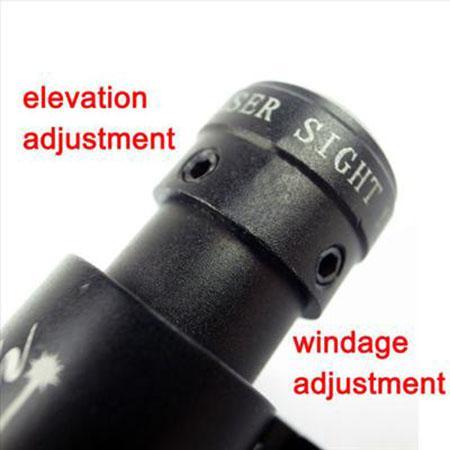 بندقية التكتيكية نطاق البصر بالليزر الأحمر مع جبل نطاق 11 مم / 20 مم