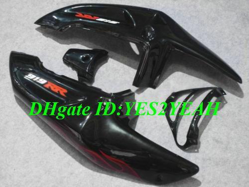 Fairing kit for HONDA CBR900RR 98 99 CBR 900RR CBR900 CBR 900 RR 919 1998 1999 red flames black Fairings body kit+7gifts HG26