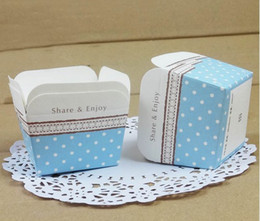 Wholesale Square Cupcake Cups - Free shipping FRESH square bulk 100pcs lot High temperature baking paper muffin cupcake liners cases wrappers