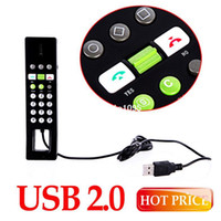 Wholesale Wireless Usb Handset Skype - USB 2.0 Phone Telephone Internet Handset Skype VOIP Product Wholesale Free Drop drop