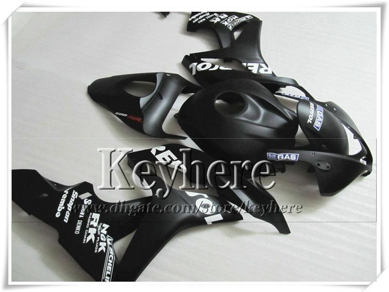 Aangepaste Injectie Fairing Kit voor Honda CBR600RR 2007 2008 CBR-600RR 07 08 F5 Matt Black Repsole Motorfiets Carrosserie Set met 7 Geschenken FK10