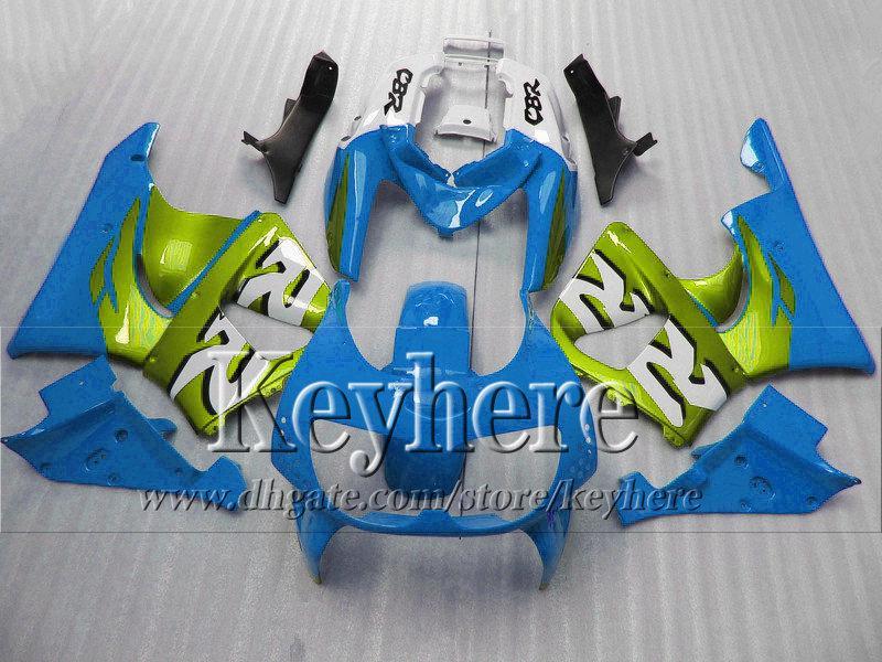 7 cadeaux gratuits! Kits de carénage vert aquatique bleu pour Honda 1996 1997 CBR900RR 893 pièces de moto CBR 900RR 96 CBR900 97 avec 7 cadeaux hb9