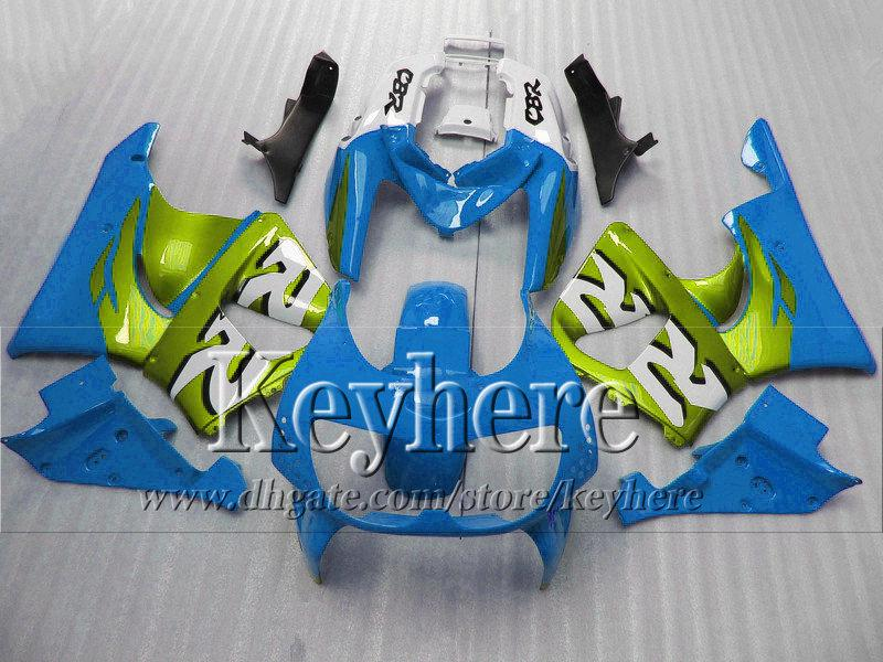 7 free gifts !water blue green fairing body kits for Honda 1996 1997 CBR900RR 893 motorcycle parts CBR 900RR 96 CBR900 97 with 7 gifts hb9