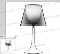 Wholesale Miss K Lamp - NEW Flos Philippe Starck Transparent Miss K Table Lamp Desk Light Beside Lights Living Room Lighting Modern MYY5241