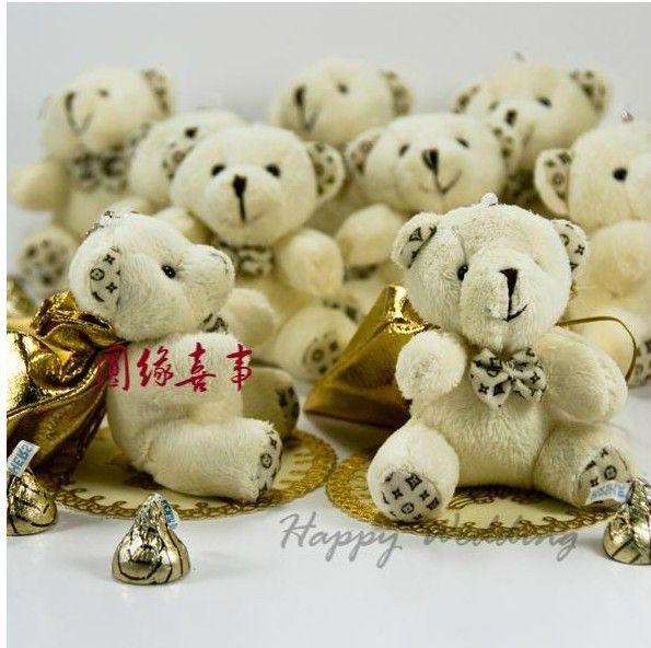 Novelty Hi-Q Little Bear Haversack Candy Bag Wedding Favors Holders Supplies Gift Bag Boxes