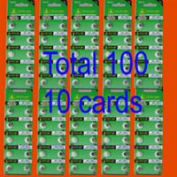 Wholesale Button Cell Lr621 - 100PCS AG1 LR621 364 SR621SW alkaline battery