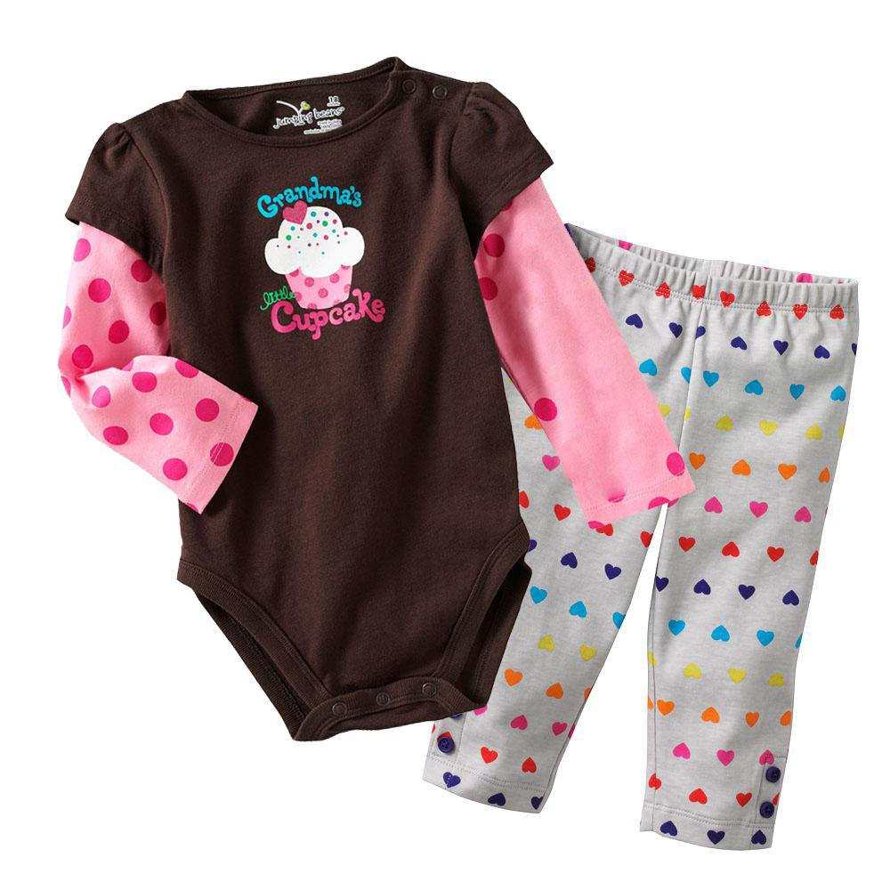 90b3032e8867 2019 Sample Retail Baby Romper Suit Overall Pants Sets Toddler Rompers  Girl s Suits Trousers Baby s Bodysuit M1752 From Steve7172
