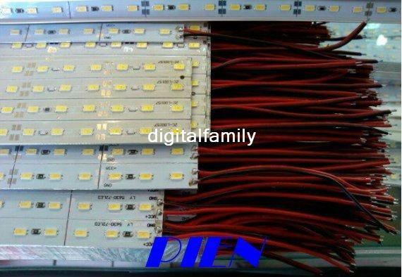 CE&ROSH ! 5630 SMD 72 LED 1 meter Rigid LED Strip Light Bar Hard Pixels Strip with Aluminium Alloy Shell by Express 20pcs/lot