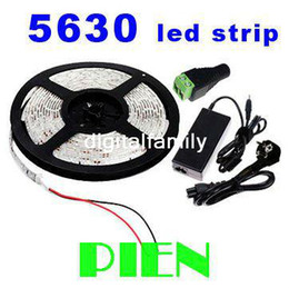 Wire for 12v dc poWer online shopping - Super bright led strip light Flexible SMD LED M Warm white Cool white V Waterproof A Power supply for bedroom living room