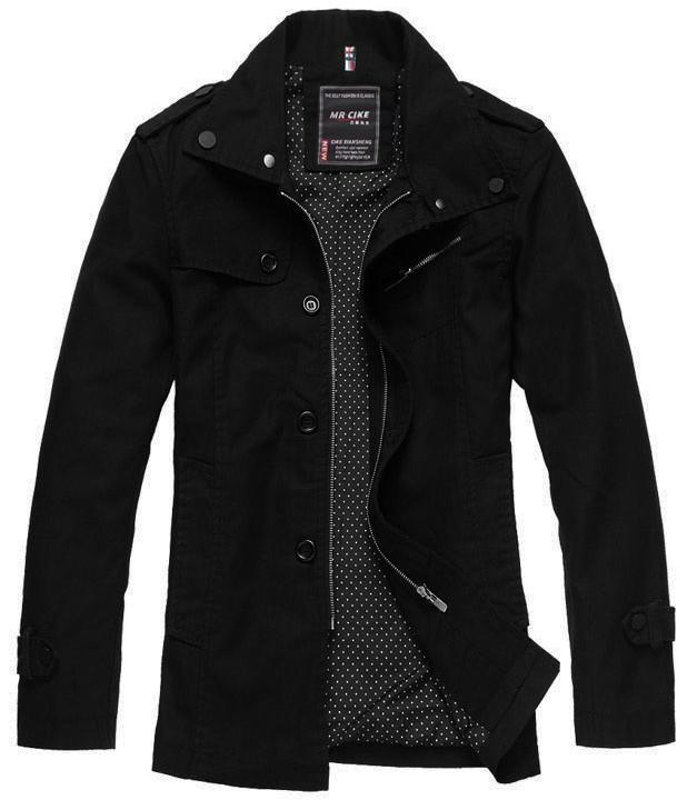 Осень Новые мужские куртки мужские весна осень Тонкие пиджаки стоячий воротник хлопок повседневные куртки