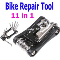 Wholesale Extractor Cycling - Free 11in1 Multi-function Bike Bicycle Chain Rivet Extractor Cycling Repair Tools Kit with Retail Packaging drop