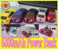 Wholesale Cool Galaxy S3 - COOL 3D Car X6 Shape 6800mAh Power Bank Backup Battery for mobile phone Samsung Galaxy s3 s4 s5 note2 HTC Free Shipping