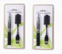 elektronische zigaretten-blister-kits ego großhandel-Freier DHL Versand für Ego Starter Kits CE4 Zerstäuber Elektronische Zigarette 650mAh EGO-T Batterie Blister Clearomizer E-Zigarette