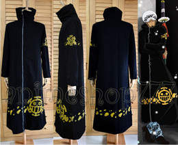 Argentina Japan Hot recomienda One Piece Trafalgar Law Coat Hat 2 años después Cosplay Anime Costume Suministro