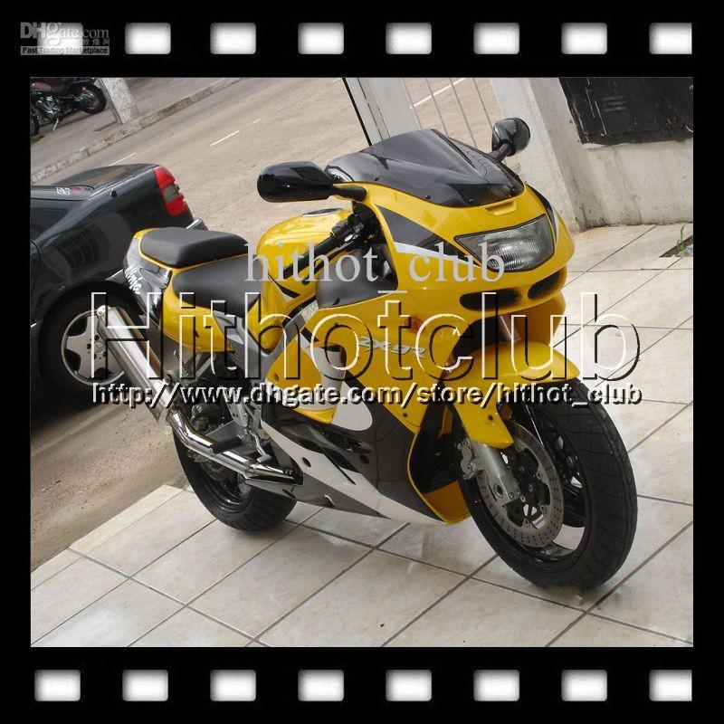 yellow white black 7gifts custom for kawasaki ninja zx9r 94-97 zx