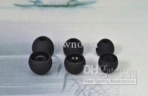 punta redonda para M eartips para auriculares con micrófono para auriculares tamaño M 1000 unids