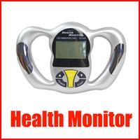 ingrosso tester mini monitor-Mini portatile Health Body Tester Calculator Digital Body Fat Analyzer Health Monitor BMI Meter dispositivo