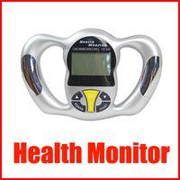 dijital vücut analizörü toptan satış-Mini taşınabilir Sağlık Vücut Test Cihazı Hesap Dijital Vücut Yağ Analyzer Health Monitor BMI Ölçer cihazı