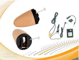 Wholesale Spy Neckloop - Factory sale wirless earpiece spy earpiece with invisible inductive neckloop kit