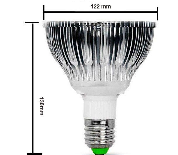 12W LED Par38 Par Lights 12 Watt Par 38 High Power Lamp WW/CW/NW Bulb Light Spotlights CE ROSH 2 Years Warranty Via Express