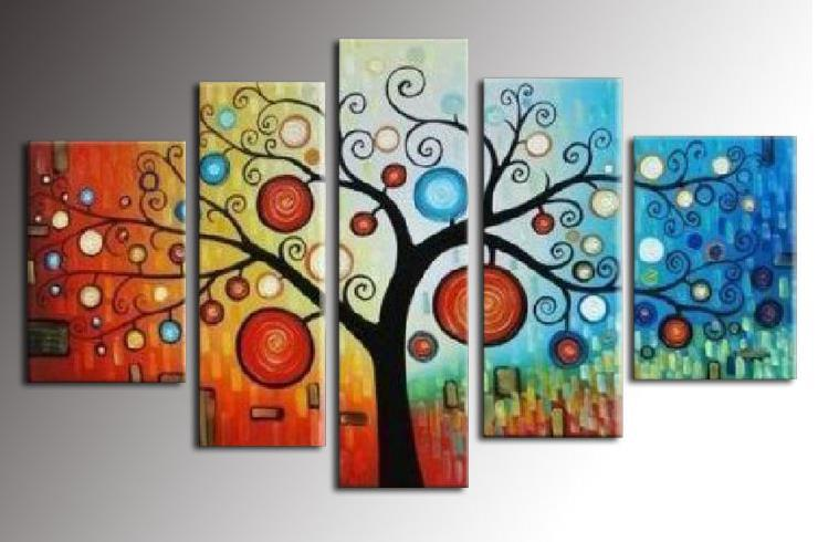 Delightful 2017 Hand Painted Oil Art New Send Money Tree Living Room Wall Home Decor  Modern Abstrac Oil Painting Flower Canvas Oil Painting Set From Art1688, ... Part 13