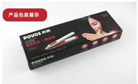 Wholesale Povos Hair Straightener - 2013 new POVOS PR2011 Professional Hair Straightener Ceramic Plate Ionic Healthy 3D Floating 30W