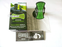 Wholesale Gripgo Car Mobile - 150pcs lot With color box GripGo Car Mobile Cell Phone Navigation Holder windshield mount