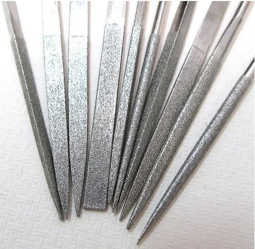 A agulha durável da ferramenta do ofício do metal arquiva a cinzeladura de pedra de madeira de vidro do diamante dos joalheiro