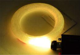 Optikai Szai светодиодные фибра оптика 1мм 45Вт 5м RGB света двигателя DIY потолочный наборы оптического волокна лампада 110 в 220 В + пульт дистанционного управления + двигатели СЕ от Поставщики увеличительная линза