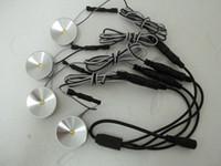 1w 5v led al por mayor-NUEVO 4pcs DC 5v 1W LED Puck / Cabinet Light, LED spotlight + 1PCS Cable de conexión de alimentación