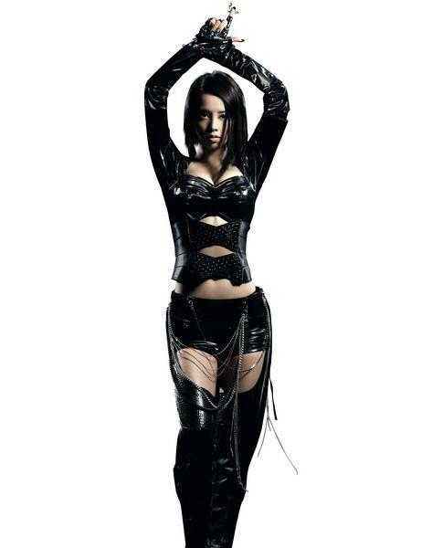 Sexy Lingerie Black Gothic Fashion Overall Catsuit Costume Dance Jump Suit Playsuit Cat 1016