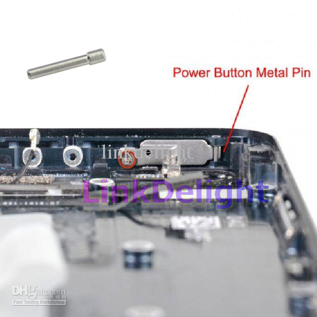 iphone 5 power button original power button metal pin for iphone 5 by mail 14557