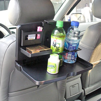 Wholesale Table Free Drink Holders - Free Shiping Car Seat Tray mount Food table meal Desk Drink Cup Holder 1pcs lot