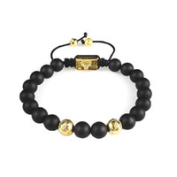 Wholesale High Quality Shamballa Bracelets - High Quality New Black Shamballa Bracelet Gilding CZ crystal Disco Ball Bead Shambala jewelry Wholesale Free Shipping