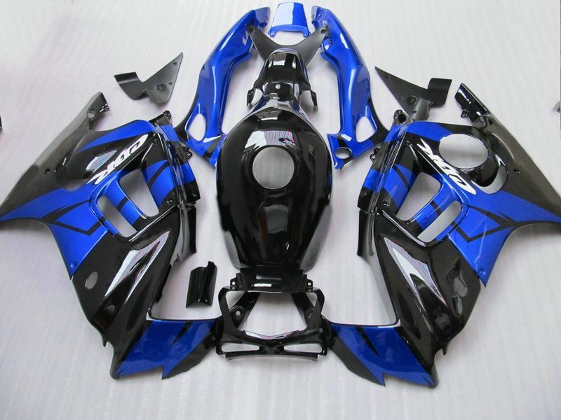 H2503 Blue black ABS Fairing kit for Honda CBR600 F3 CBR600 F3 1995 1996 CBR 600F3 95 96 cbr 600 fairings kits