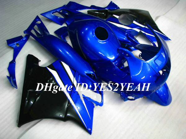 Motorcycle Fairing kit for Honda CBR600F2 91 92 93 94 CBR600 F2 1991 1992 1994 ABS Blue black Fairings set+Gifts HG03