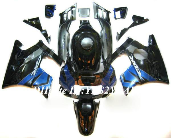 Motorcycle Fairing kit for Honda CBR600F2 91 92 93 94 CBR600 F2 1991 1992 1994 ABS Grey black Fairings set+Gifts HG03