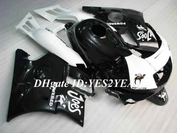 Motorcycle Fairing kit for Honda CBR600F2 91 92 93 94 CBR600 F2 1991 1992 1994 ABS White black Fairings set+Gifts HG08