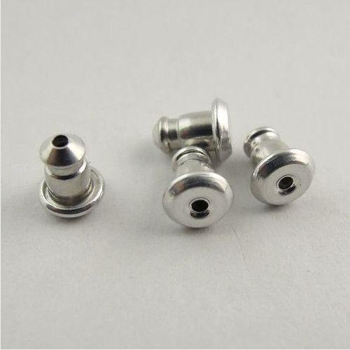 Freies Verschiffen! Nickel Ohrring zurück Ohrstecker DIY Schmuck Armaturen / Zubehör