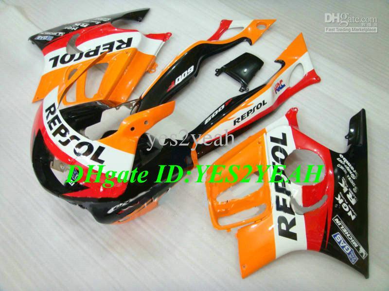 Verkleidungsbausatz für HONDA CBR600F3 95 96 CBR 600F3 CBR600 CBRF3 CBR 600 F3 1995 1996 REPSOL Verkleidungskarosserie HG86