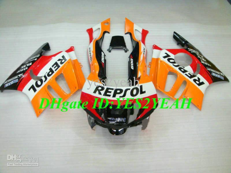 Kit de cuerpo de carenado para HONDA CBR600F3 95 96 CBR 600F3 CBR600 CBRF3 CBR 600 F3 1995 1996 REPSOL Carenados de carrocería HG86
