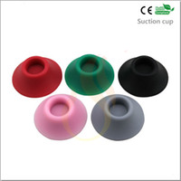 Wholesale Electronic Cigarette Rubber Holder - 100pcs lot!2013 newest product Electronic cigarette ego sucker ego holder suction cup,silicone rubber sucker for ego ce4 ego ce5 ego ecig