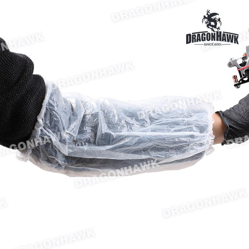 Tattoo Gloves Disposable Tattoo Plastic Sleeves Cover Bag Tattoo