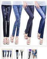 leggings preise großhandel-freie Verschiffenjeans schauen 7 Muster sexy Leggings / slim fit Verkauf zu niedrigem Preis aber hoher Qualität