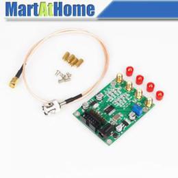 Freeshipping 50Mhz AD9850 Dual Channel Sine / Square Wave DDS Generador de señal + BNC a SMA Cable) # BV151 CF en venta