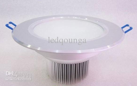Plafond de puissance élevée de 3W LED Downlight Downlights avec 3leds Down Lighting, lumière WW / CW / NW - Garantie 2 ans / Via Express LEDQOUNGA