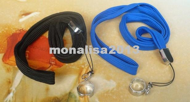 Lanyard Neck Sling EGO Necklace String with a Ring for EGO eGo-T eGo-W eGo-C Electronic Cigarette E-cigarette Various Colors