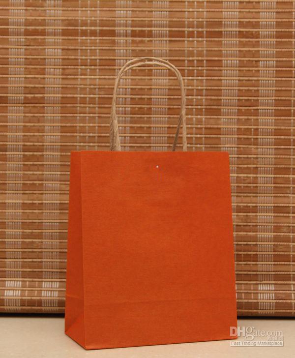 Bolso de papel de moda del regalo de ES, paquete del regalo del festival de la bolsa de papel de Kraft, NUEVO Bolso de papel en blanco del regalo
