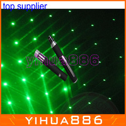 Wholesale Christmas Lights Pen Wholesale - 6 in 1 green laser pointer pen with 5 star caps christmas laser light